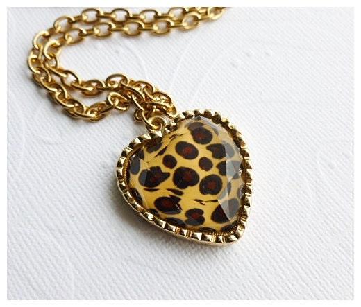 Leopard Print Necklace - Aqsa