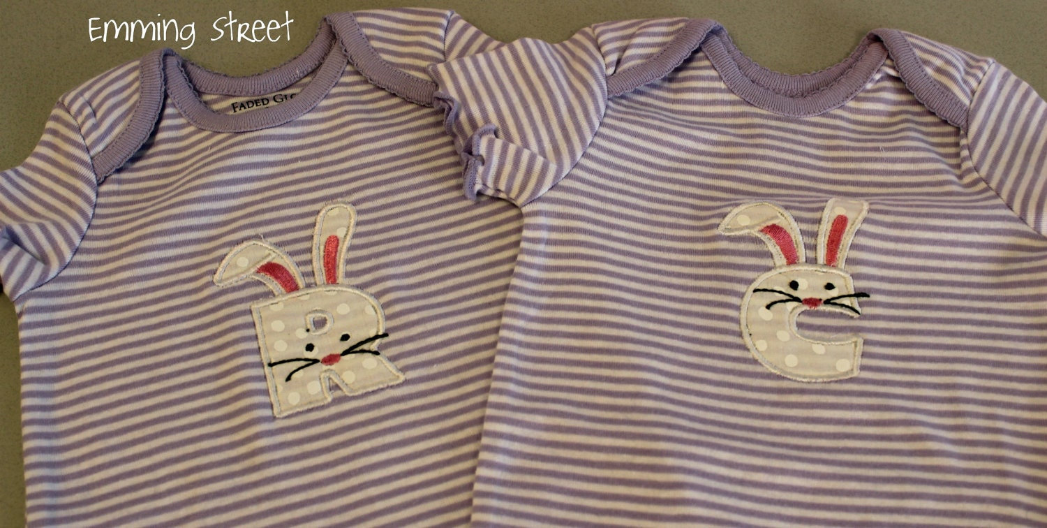 Custom Personalized Easter Baby Onesie