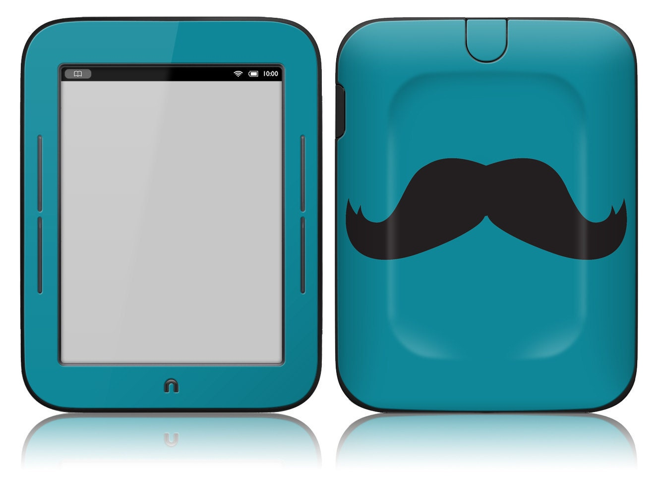 NOOK Simple Touch Skin Cover - Mustache