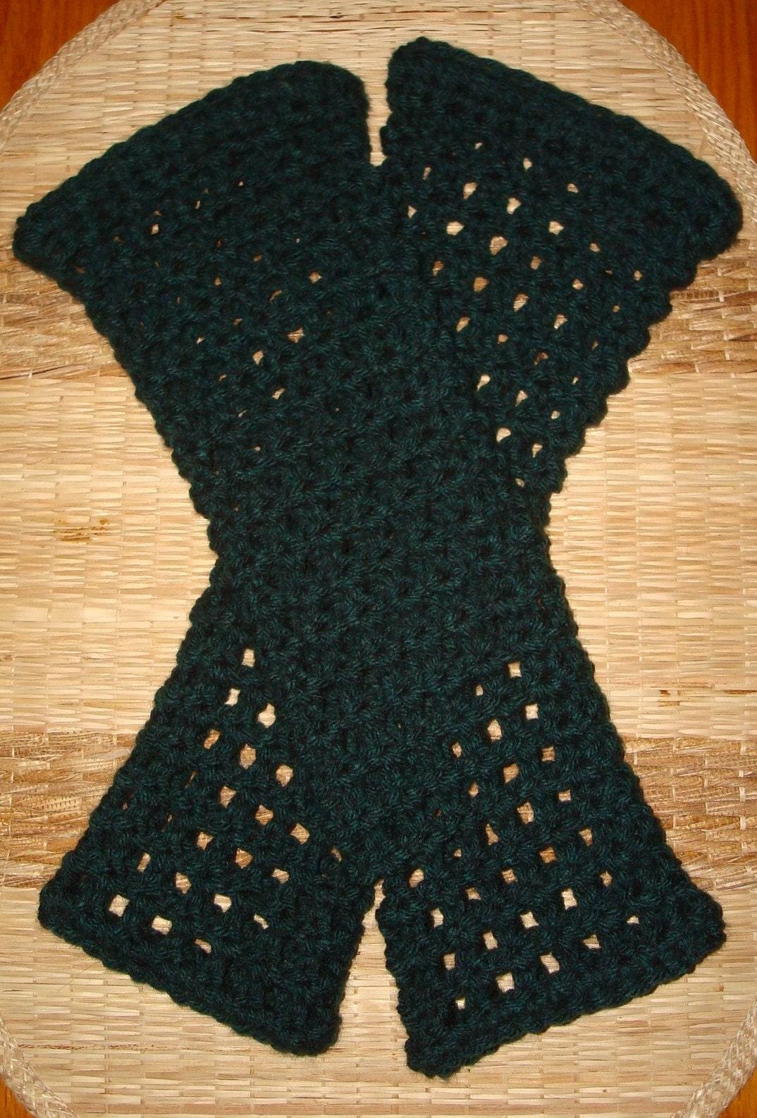 Crochet-Granny Square Scarf | FaveCrafts.com