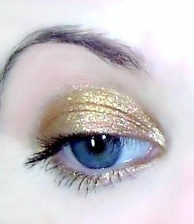Mineral  Makeup on Mineral Makeup Summer Gold Eye Shadow By Pinkquartzminerals