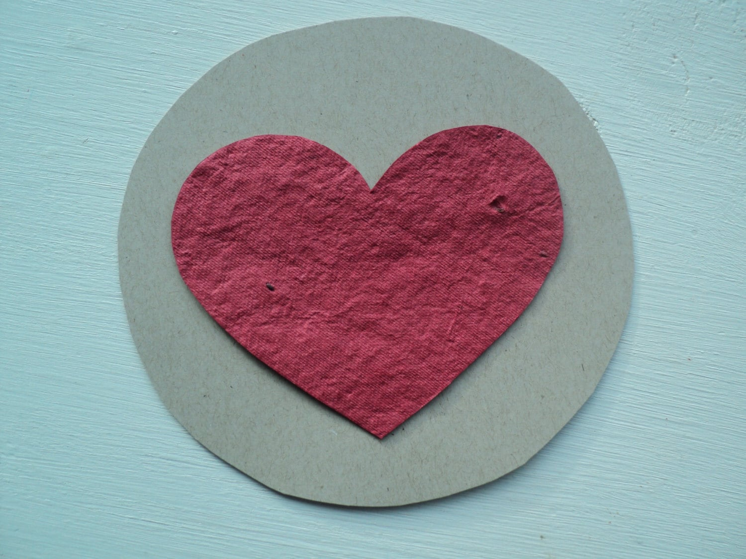 Heart Circle Plantable & Recycled Children's Valentine's