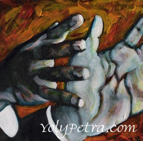 Martin Luther King's Hands- Art print