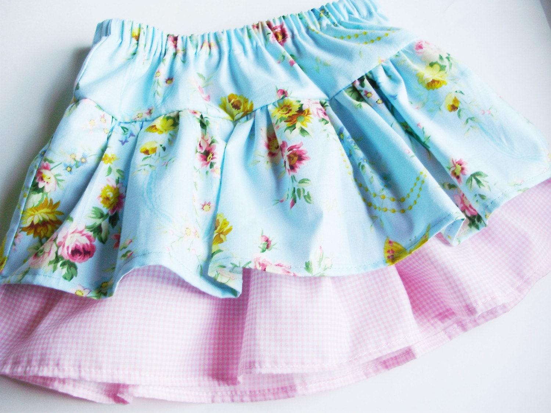 PDF Pattern Ruffle Twirl Skirt Tutorial - LittleAndalucia