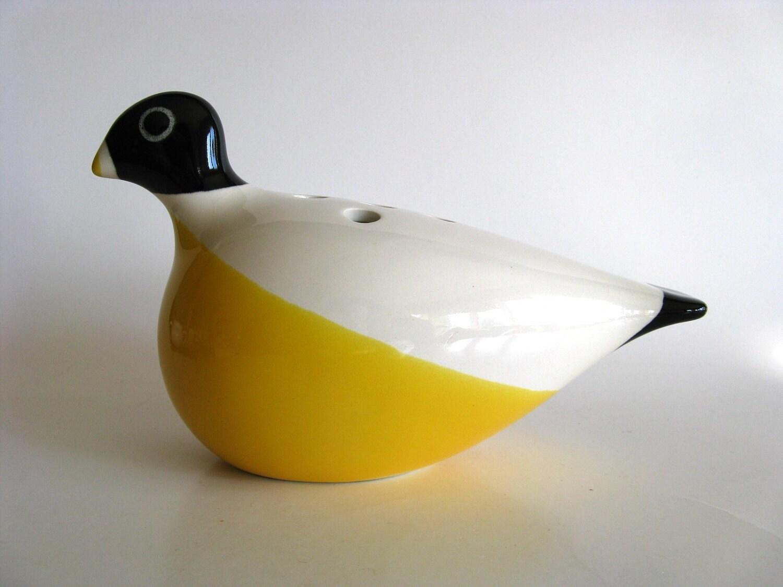 Nils Thorsson Columbine bird posy vase