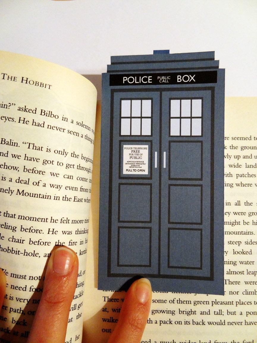 Police Box Bookmark