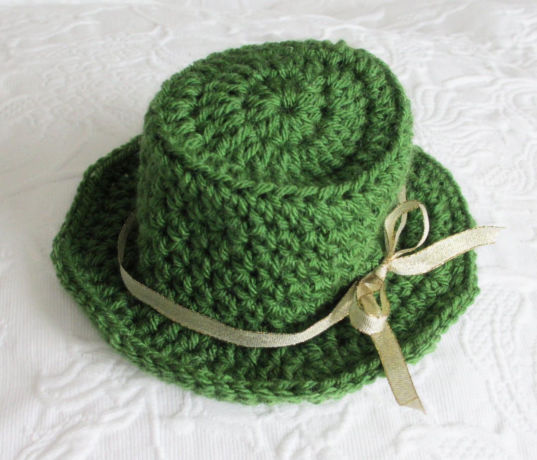 Free Crochet Pattern - Leprechaun Hat from the St. patricks day