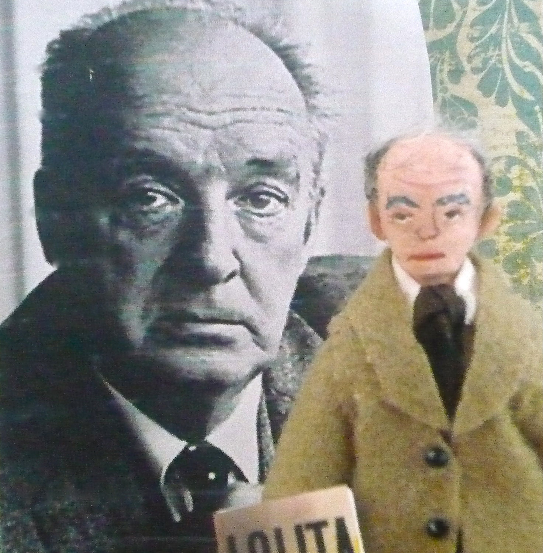 Nabokov Doll Miniature Russian Author