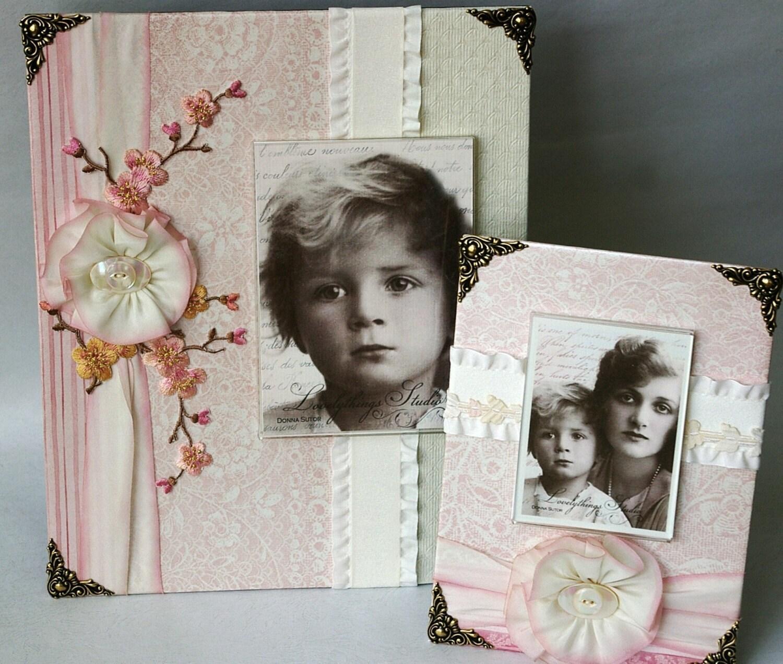 Photo Frame, Baby Girl, жемчуг розовый и кремовый