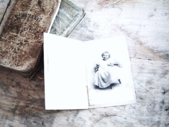 SALE Vintage circa 1910 Baby Girl Photograph - VintageScraps
