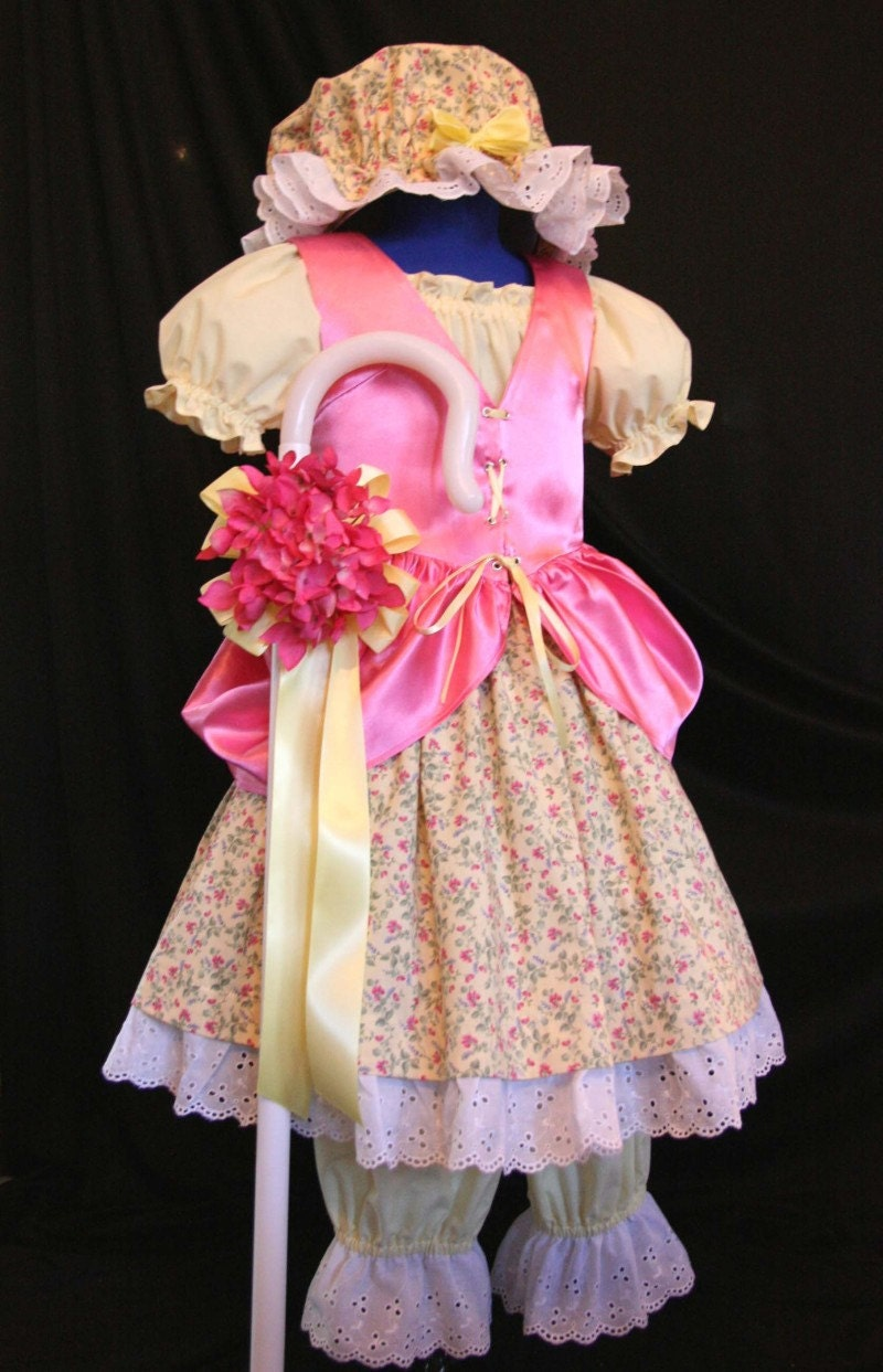Little Miss MUFFET/Bo PEEP Costume Custom CHILD Size