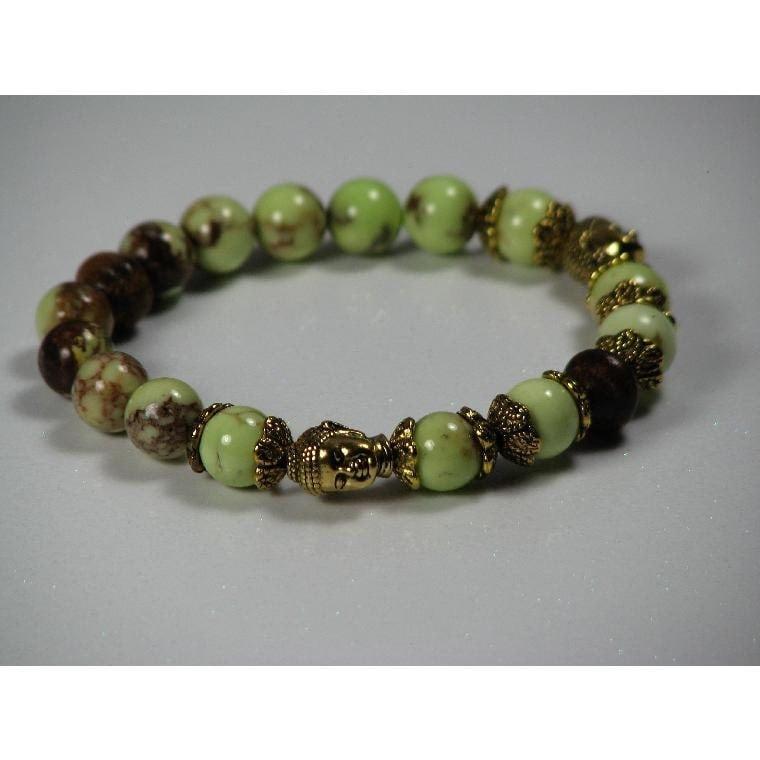 Magnesite Buddha Bracelet