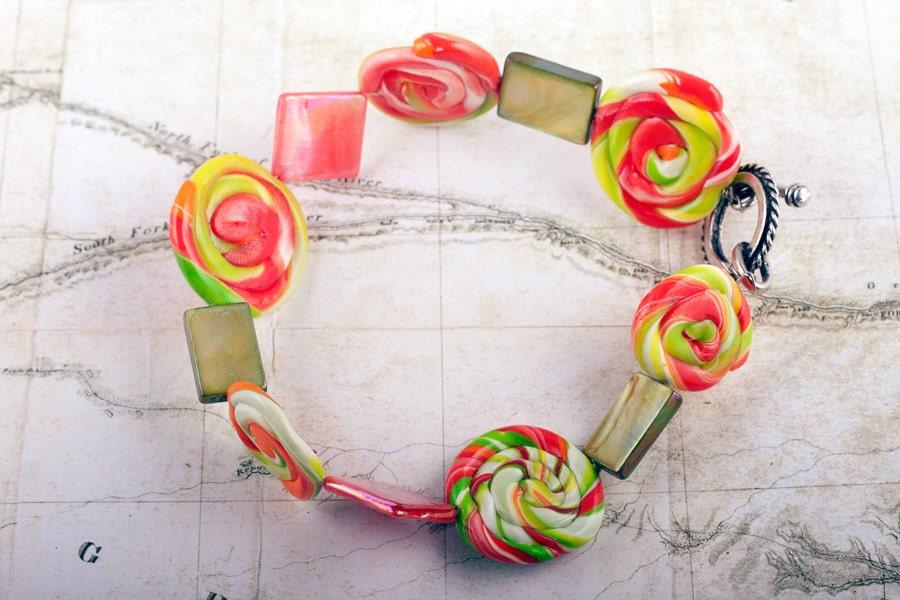 Lollipop Charm Bracelet