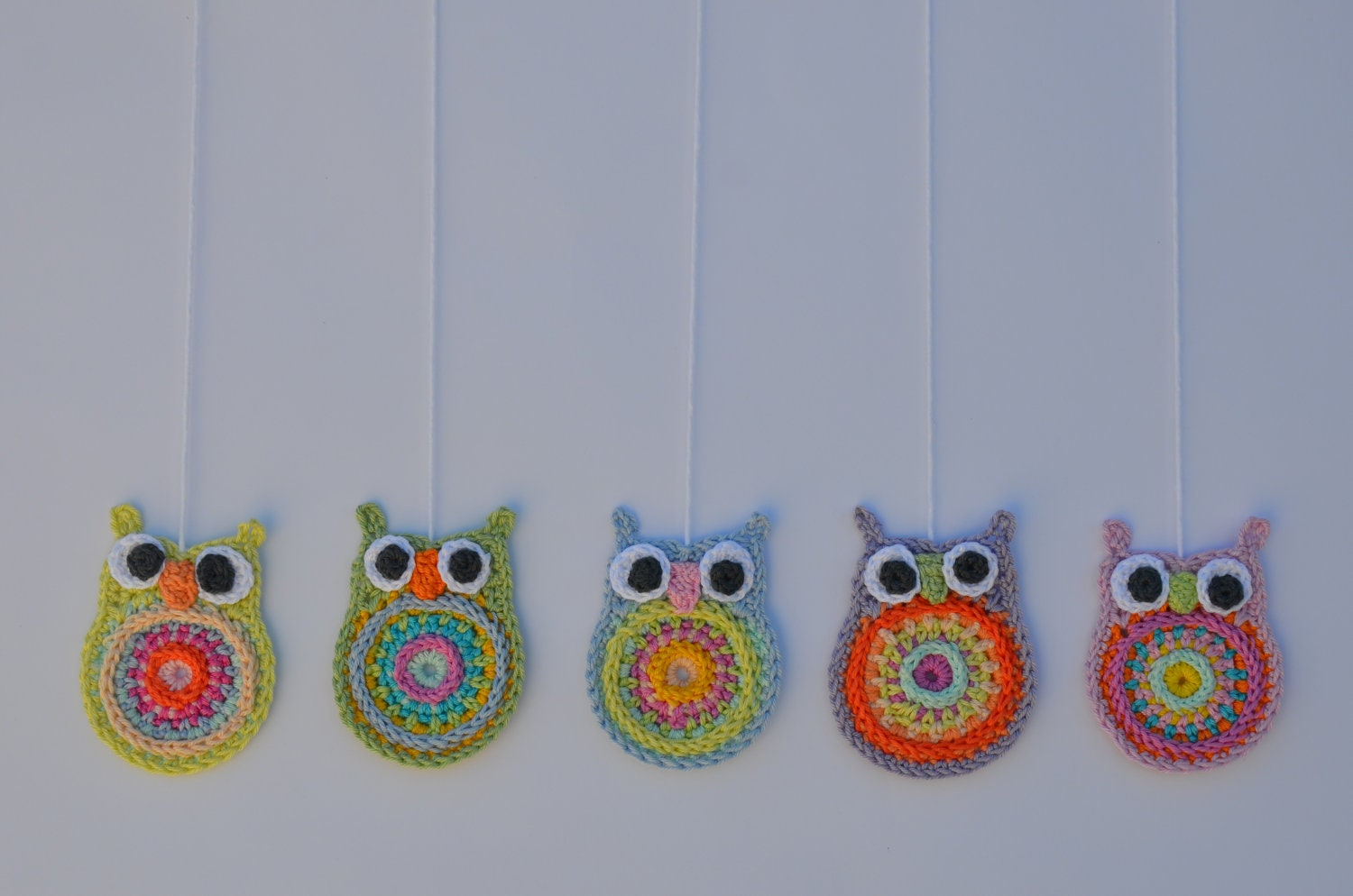 Crochet Owl Decoration - Choose One