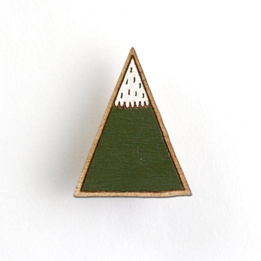 Green Mountain Brooch - pannikin