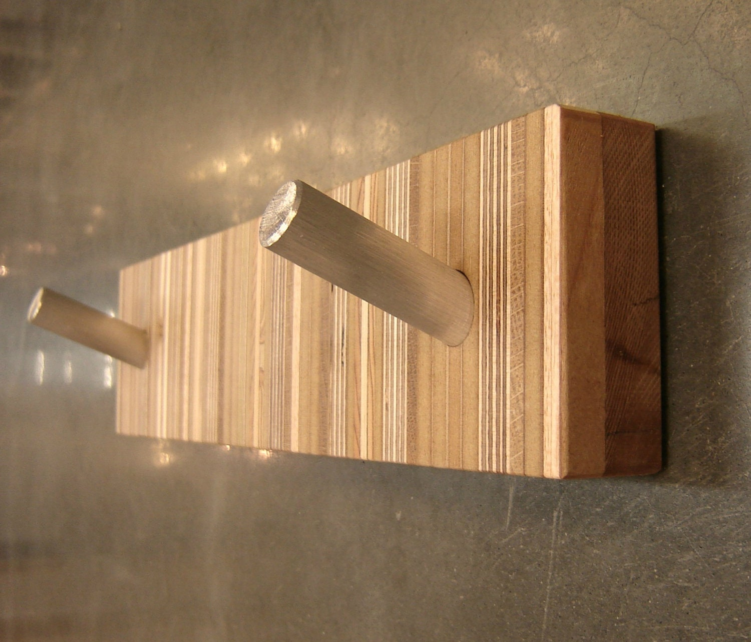 Robe Hook / Towel Hook Bath Decor in Reclaimed Wood