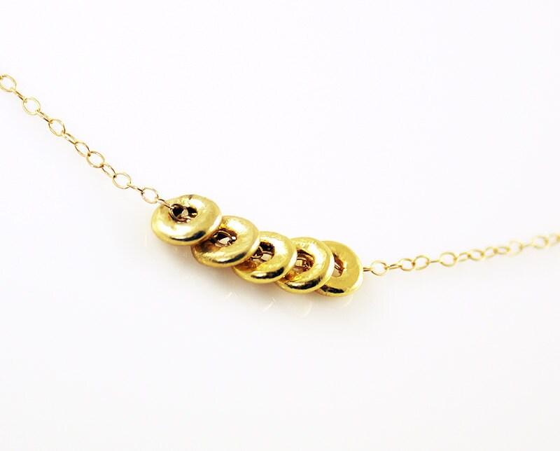 Five Golden Rings - 24k gold