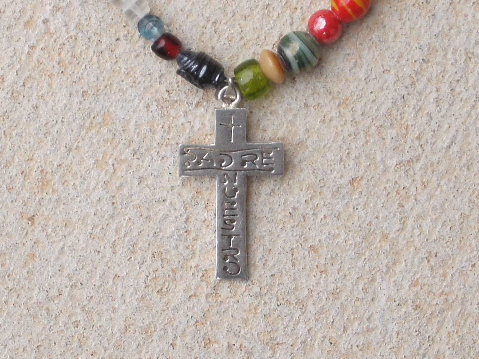 Padre Nuestro necklace