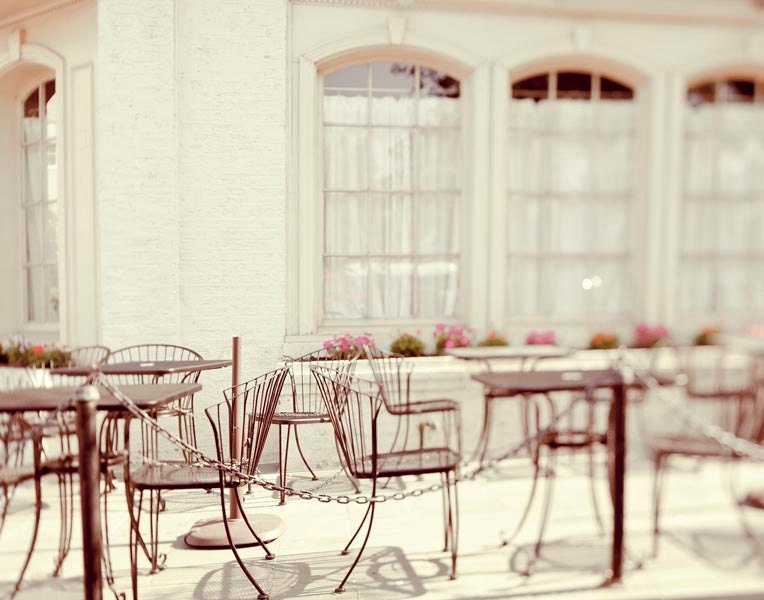 French decor, Paris Photography, romantic wall art, alfresco dining, cafe patio, bistro, summer, raceytay, - Raceytay