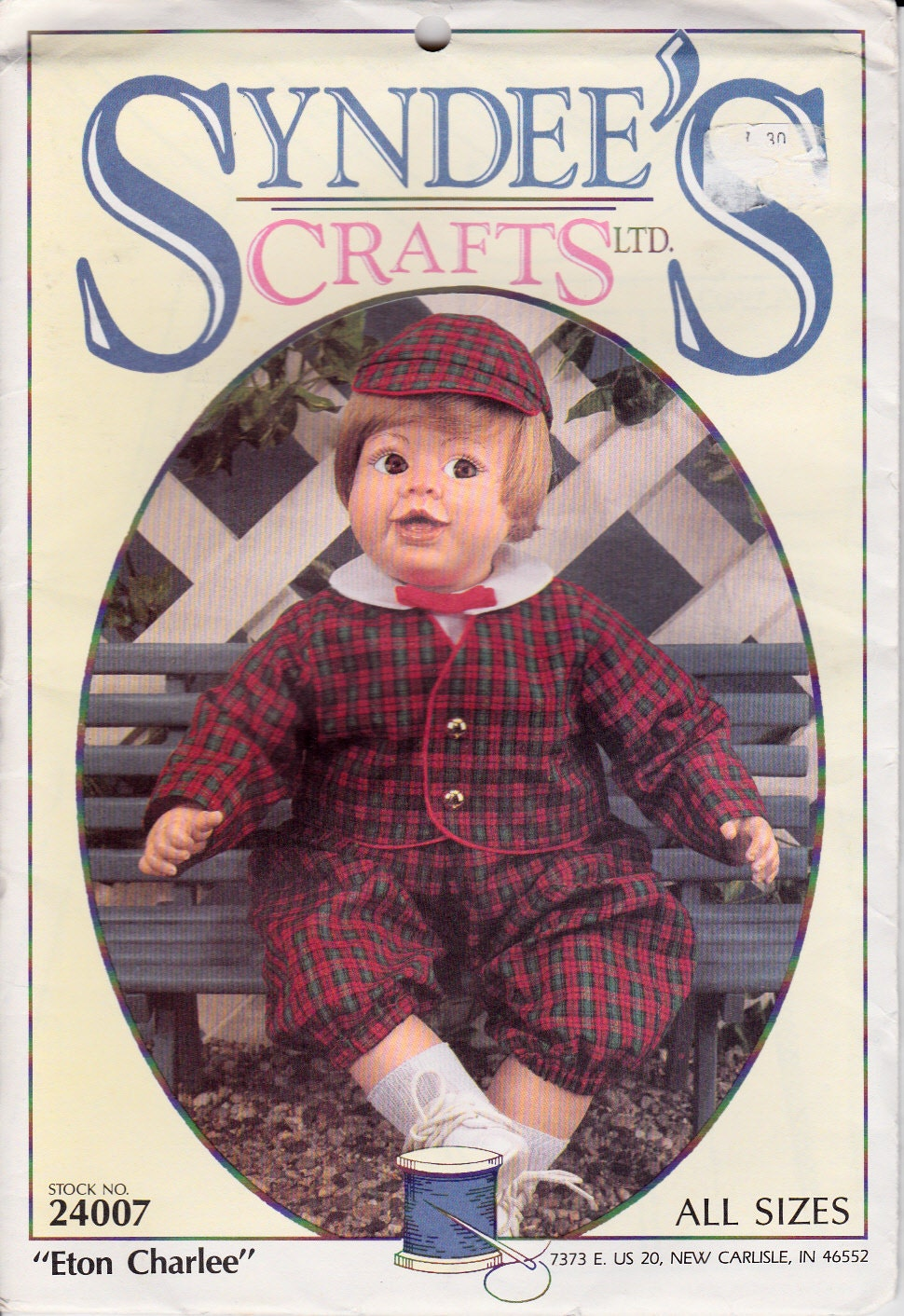 Knitting pattern. Fits American Girl Doll and by StylinDollKnitz