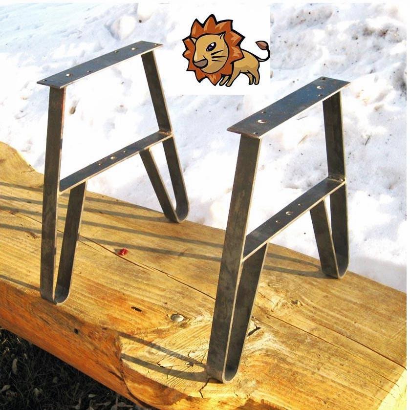 Tiga Metal Twinlegs For Empat Foot Long Patio Table You Create Diy