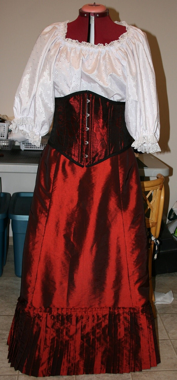 1870s Victorian Skirt