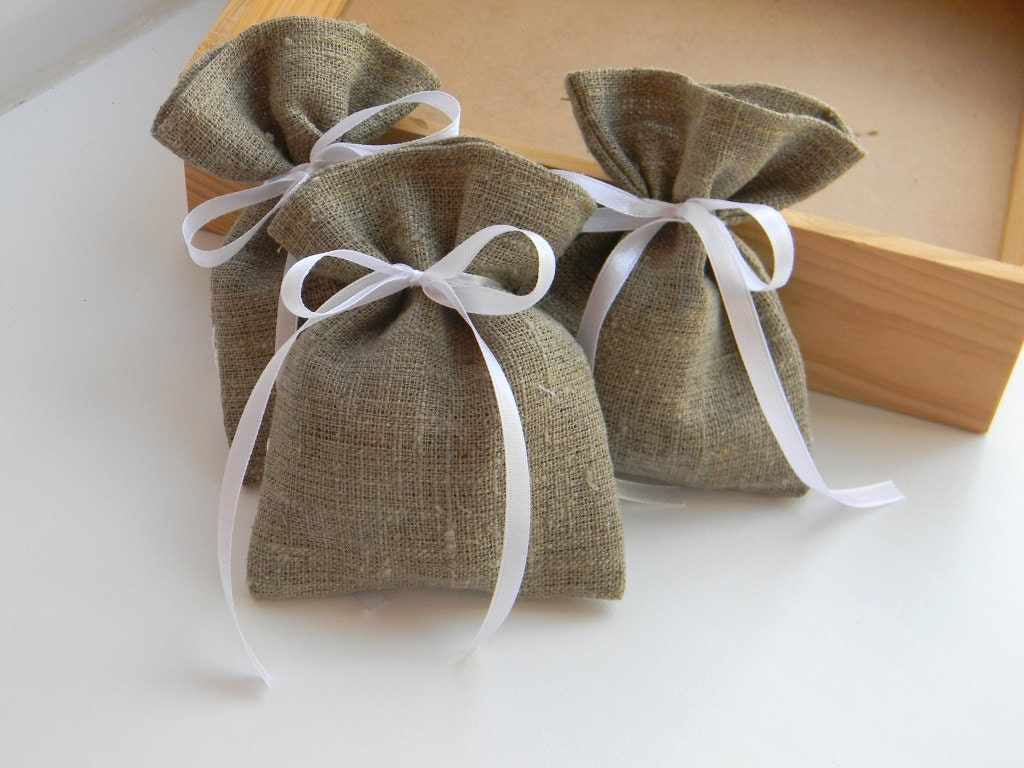 Recyclable Organic Burlap Gift Bags