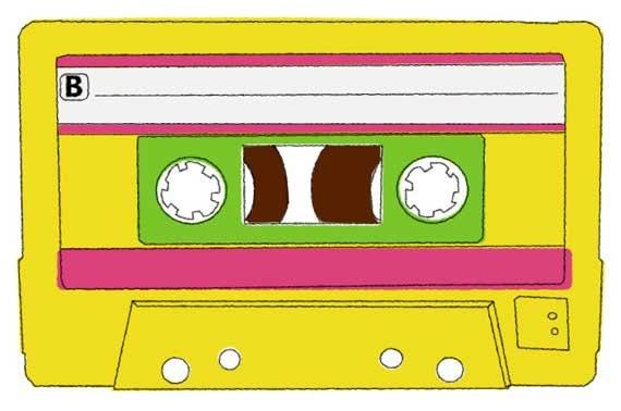 Blank Card - 80s Mixtape - GeekAmour