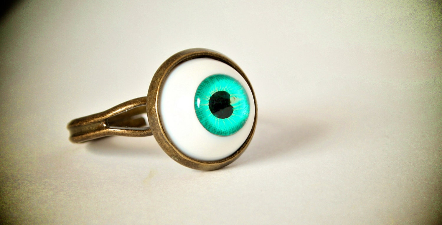 THE ORIGINAL - Evil Eye Ball Ring - SALE