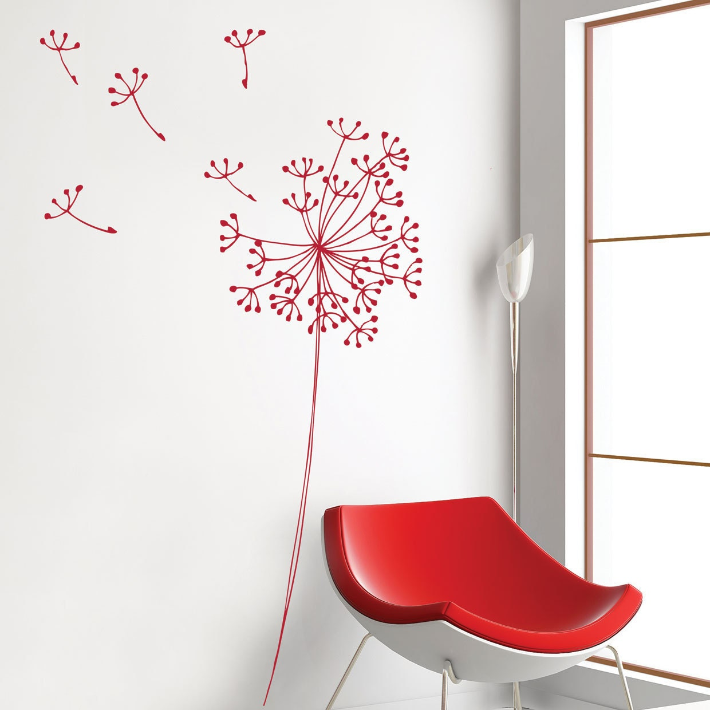 Anglesey - Dandelion flowers - red - miaandcoADzif