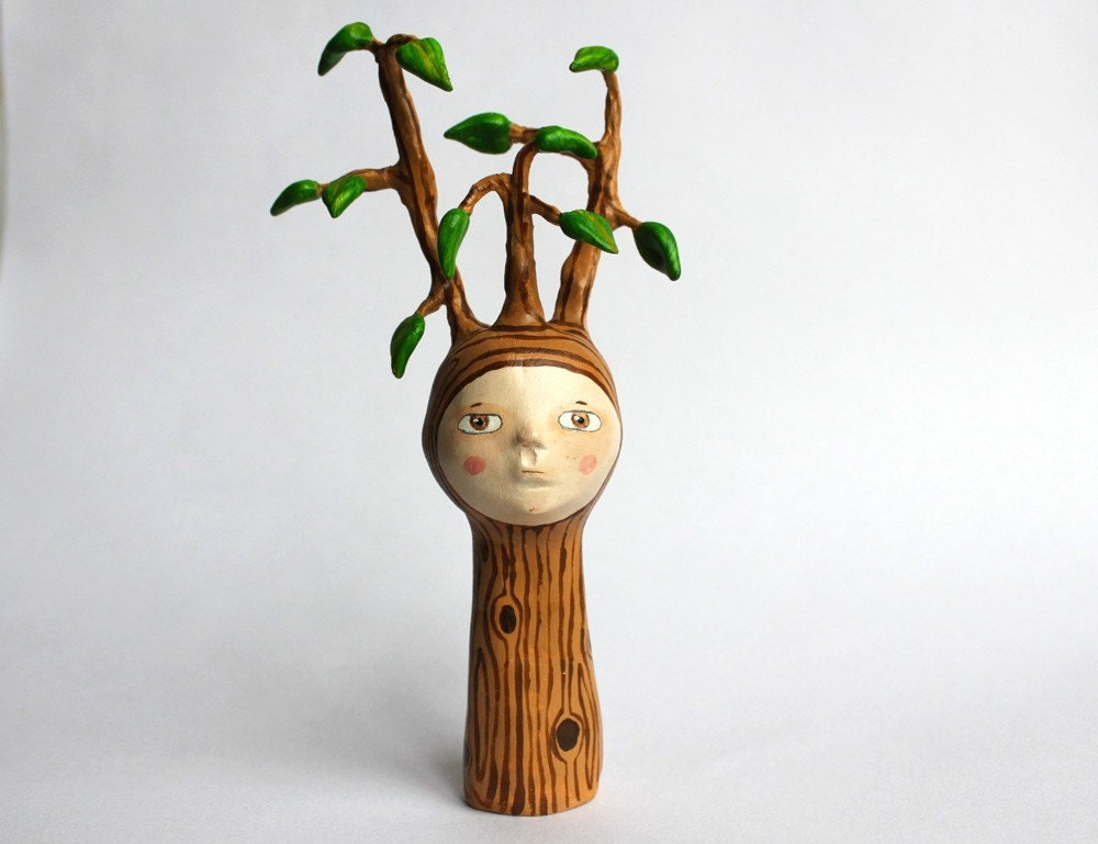 The tree child no.1 - finger puppet