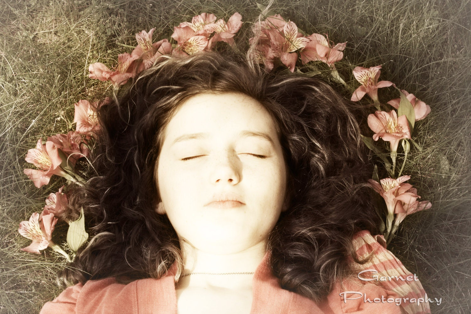 Ethereal Dreams Original Fine Art Portrait Print 5x7 Matte Free Shipping - GarnetPhotography