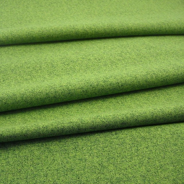 Cotton Fabric: Quilter's Tweed  in Grass - 1 YD - FabricFascination