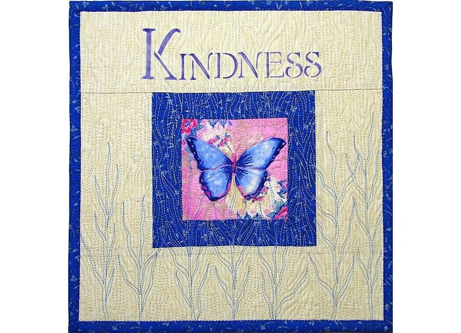 Art Wall Hanging Quilt, Butterfly, Under 50 - thebutterflyquilter