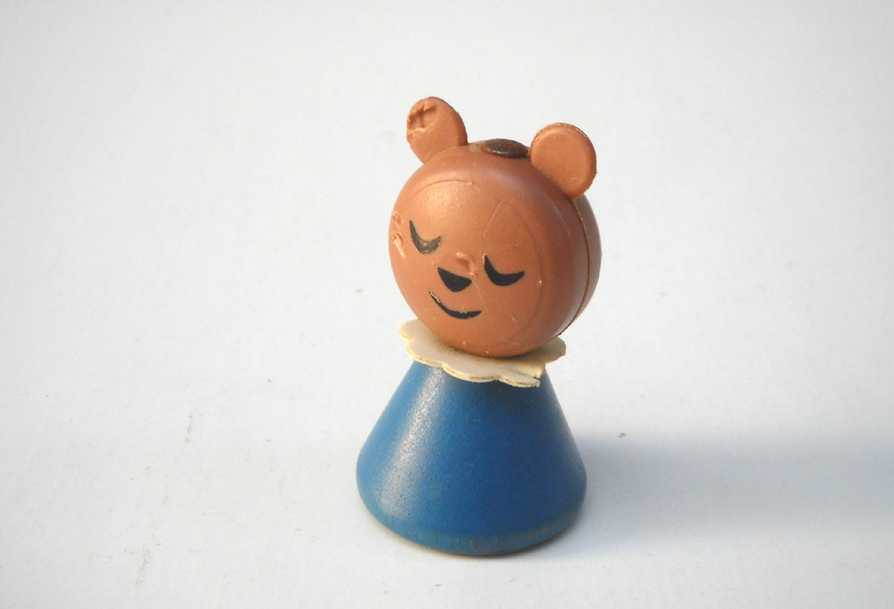 Vintage Little People Bear: From Goldilocks Set 151 - ManateesToyBox