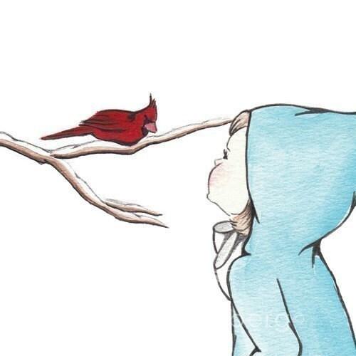 Finding Winter Cardinal - remarkablebird