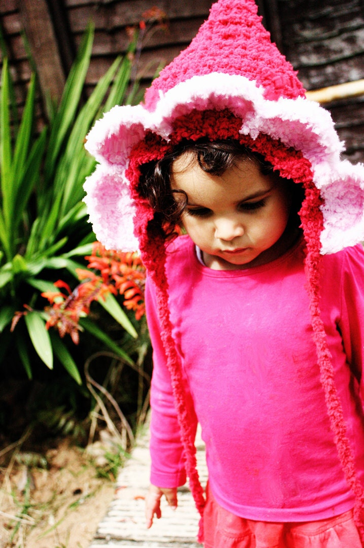0 to 3m Newborn Red Flower Hat Red Riding Hood Baby Daisy Bonnet - Red Baby Pink Newborn Baby Hat Flower Bonnet Newborn Hat Photo Prop