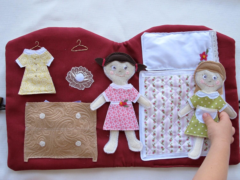 Книжка для куклы своими руками