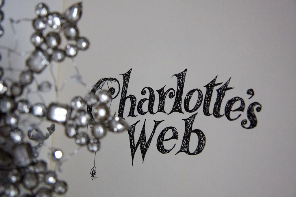 Charlottes Web Soldered Bottle - by Hush Sweet Charlotte