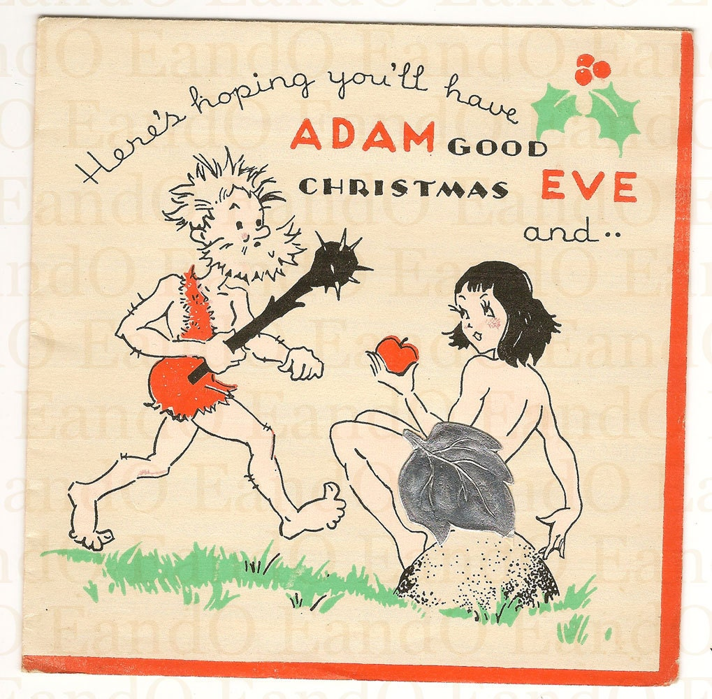 "1920s-1930s ""Have ADAM Good Christmas"""