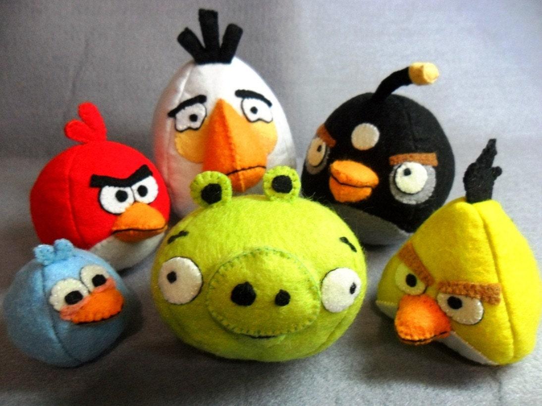 Angry birds своими руками фото