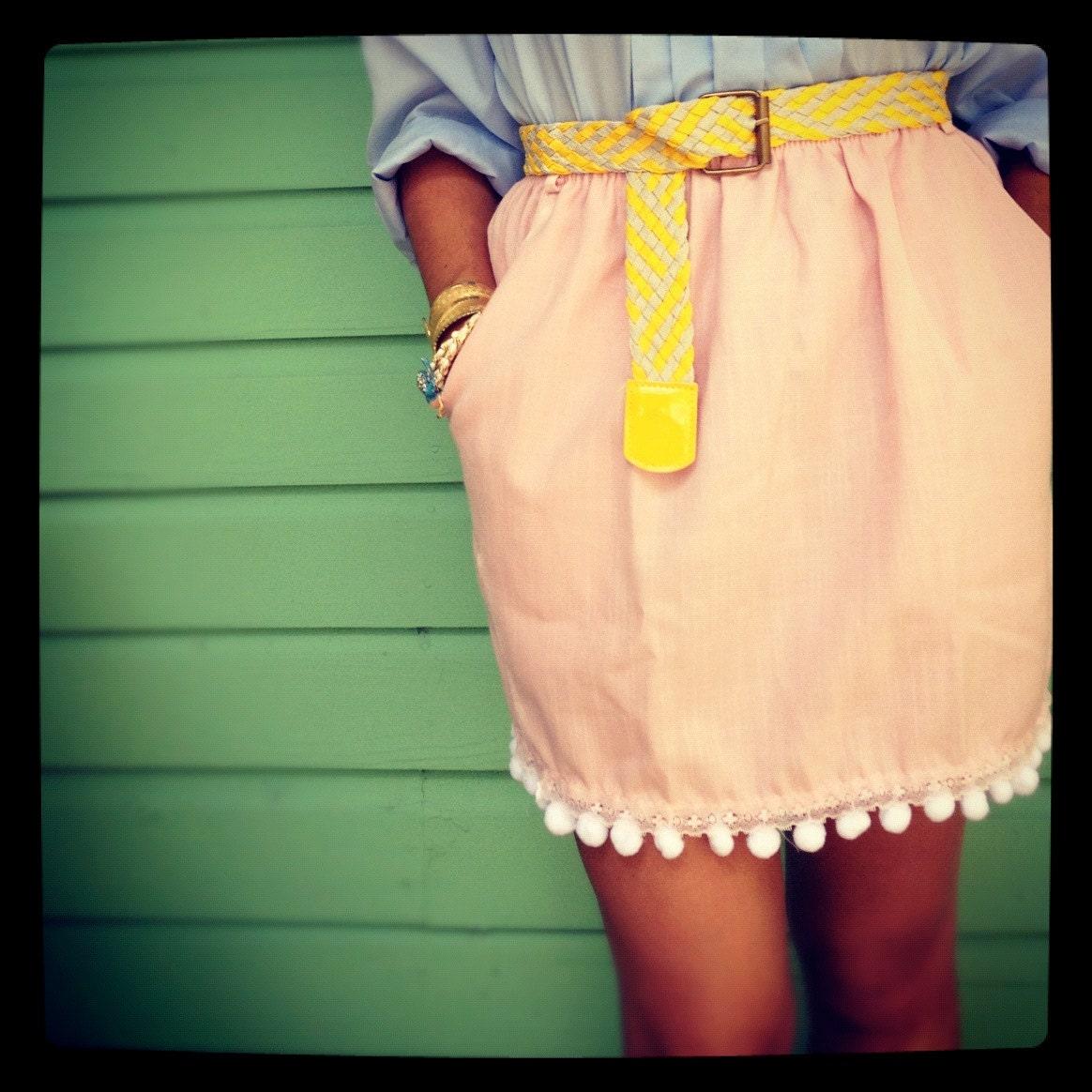 Dana's Pom Pom Skirt