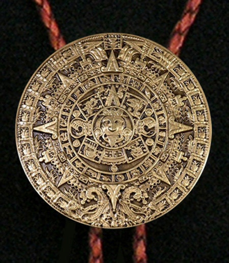Aztec Calendar Medallion