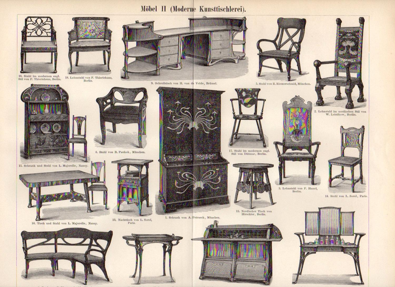 Мебель в стиле модерн своими руками 98