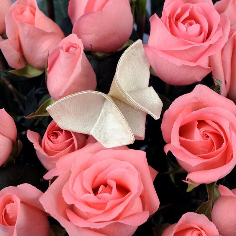 Wedding Bouquet Decoration Silk Origami Butterfly Bouquet Decoration 100