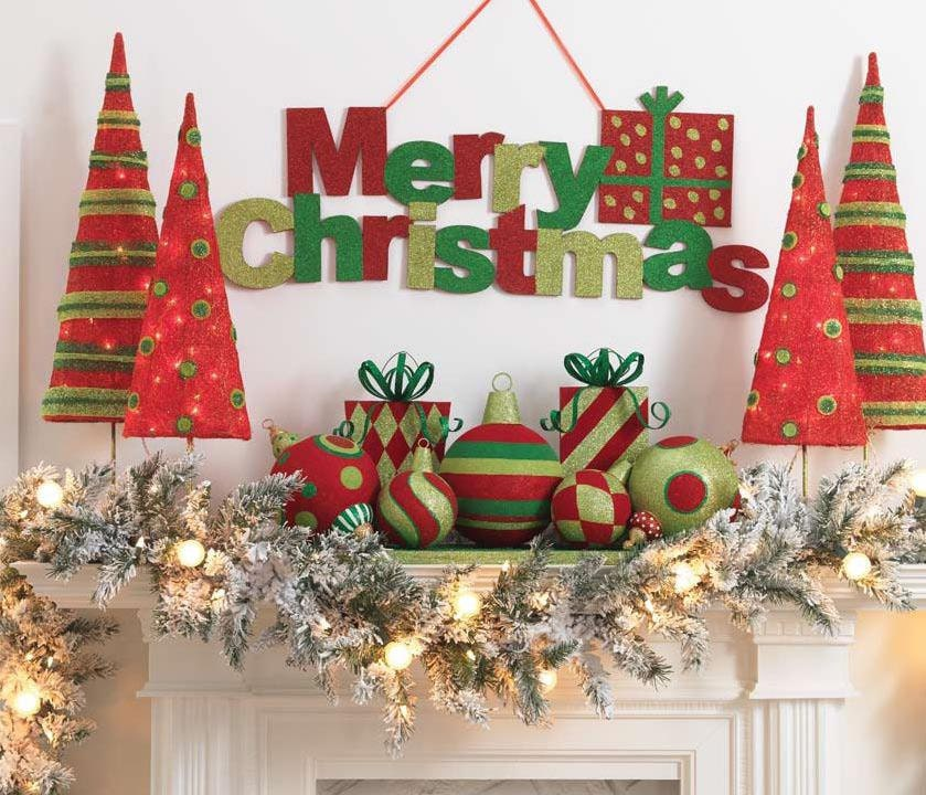 Christmas decoration, christmas sign, holiday decorations,large christmas sign indoor or outdoor decoration