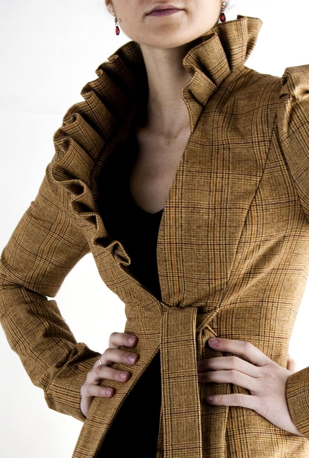 lena  jacket, (available fabrics are in the last picture) - lauragalic