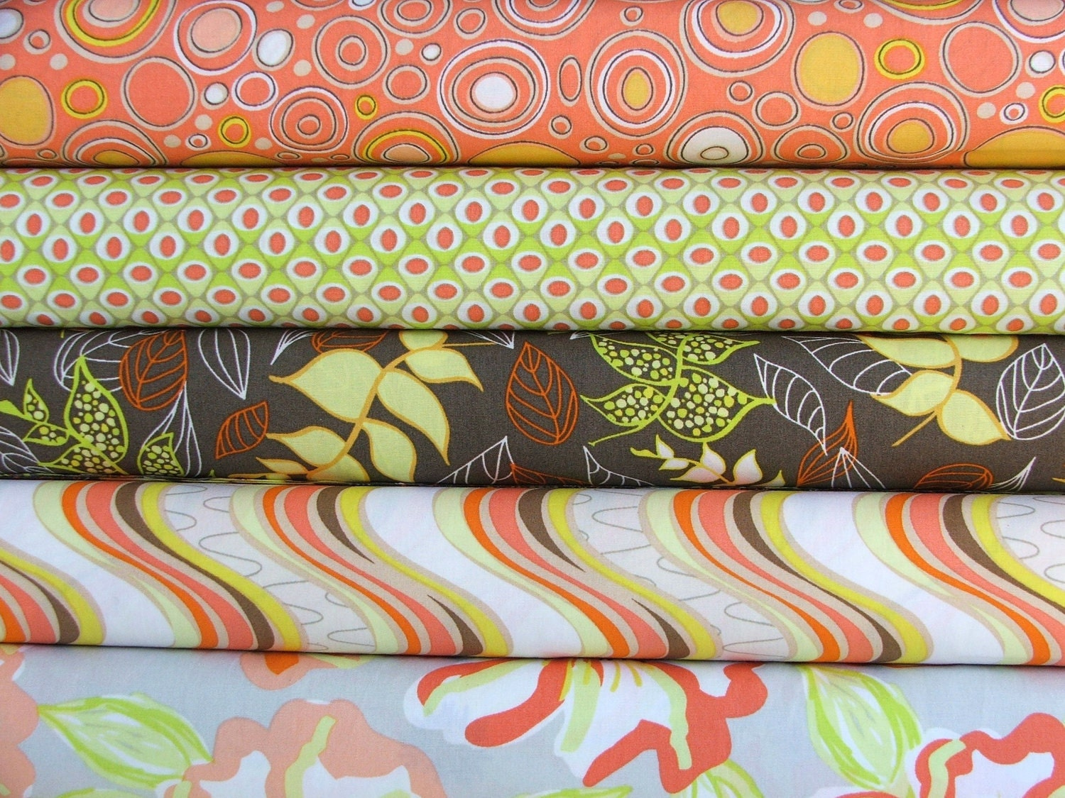 LAST ONE Sunset Aquarella by Art Gallery Fabrics Fat quarter