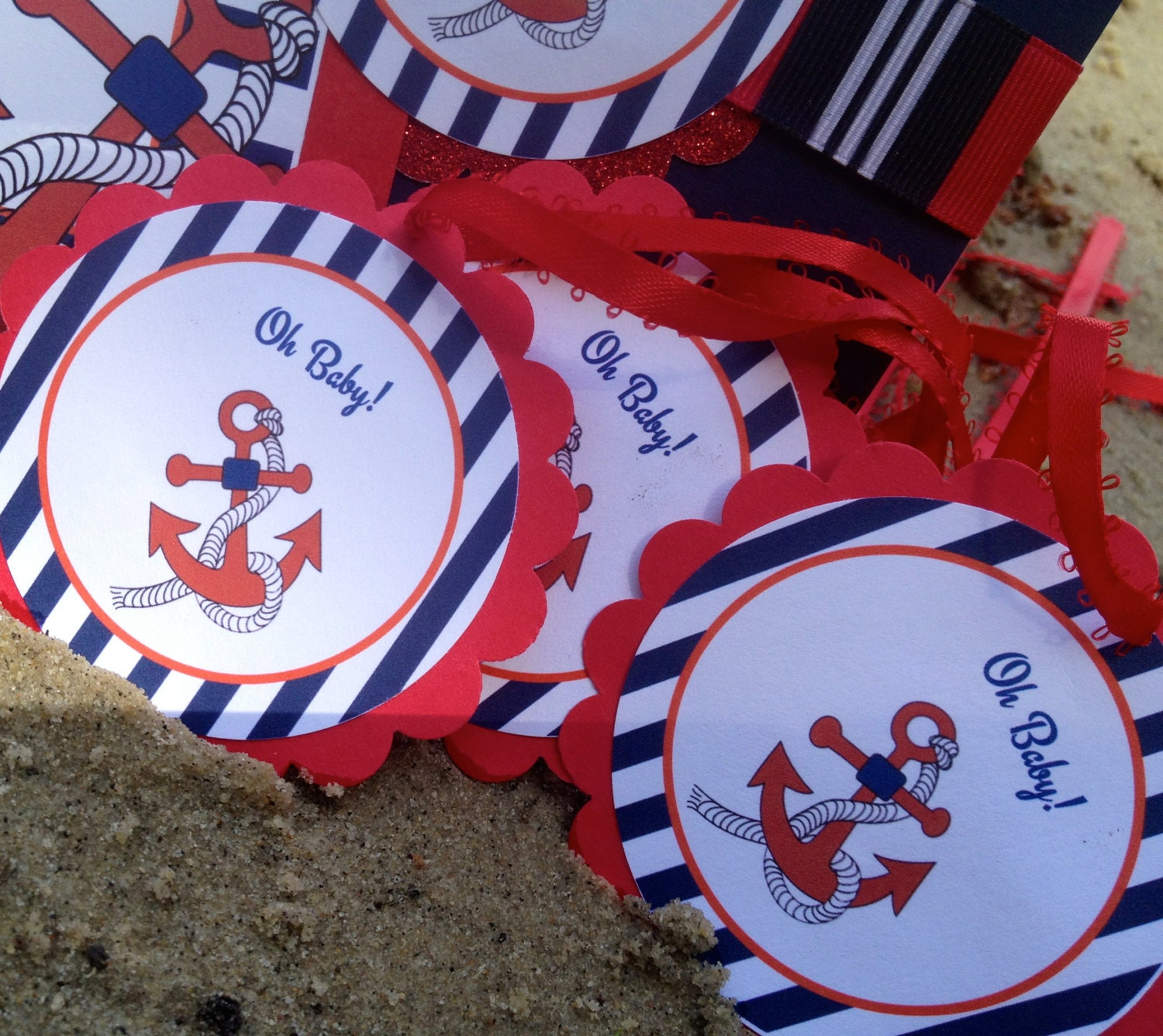 Notes by Sherry: Best Baby Shower Themes - Nautical