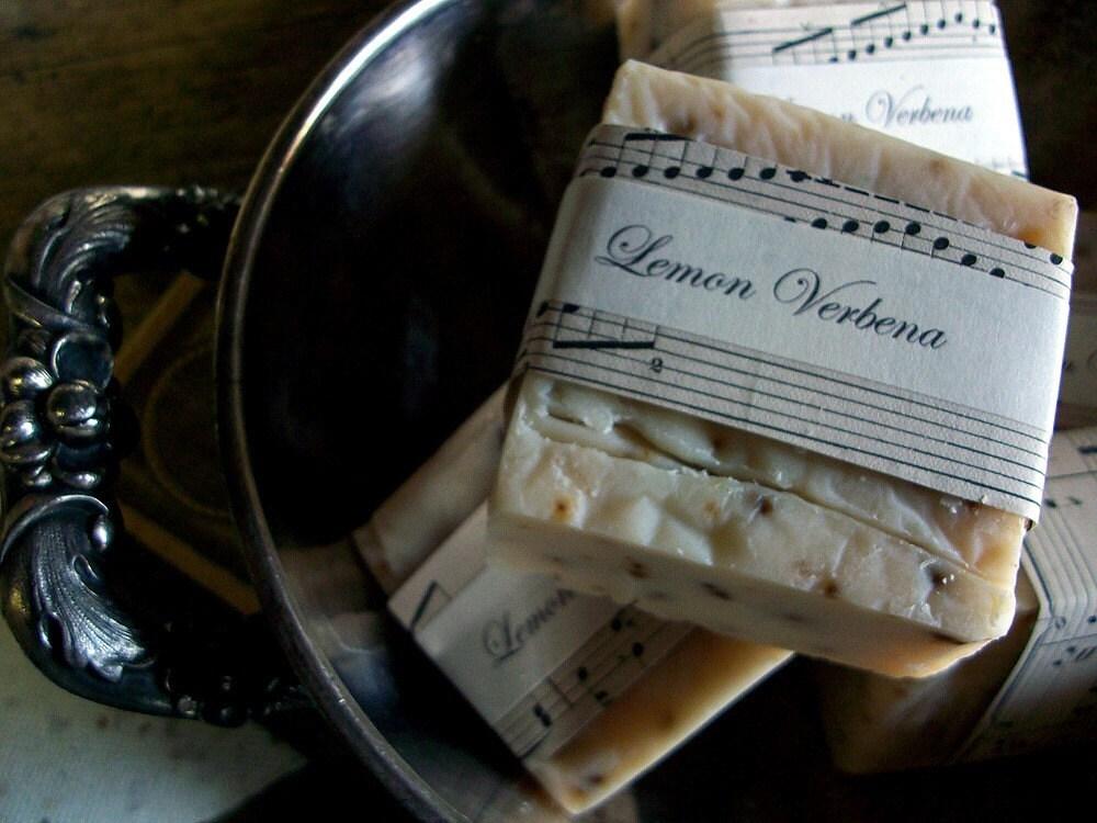 Luscious LEMON VERBENA Handcrafted Artisan Soap